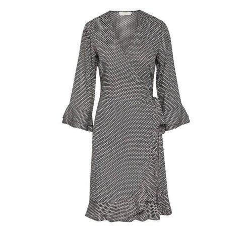 Cream Clothing Kleid | Dakota Wrap dress | Hot Java
