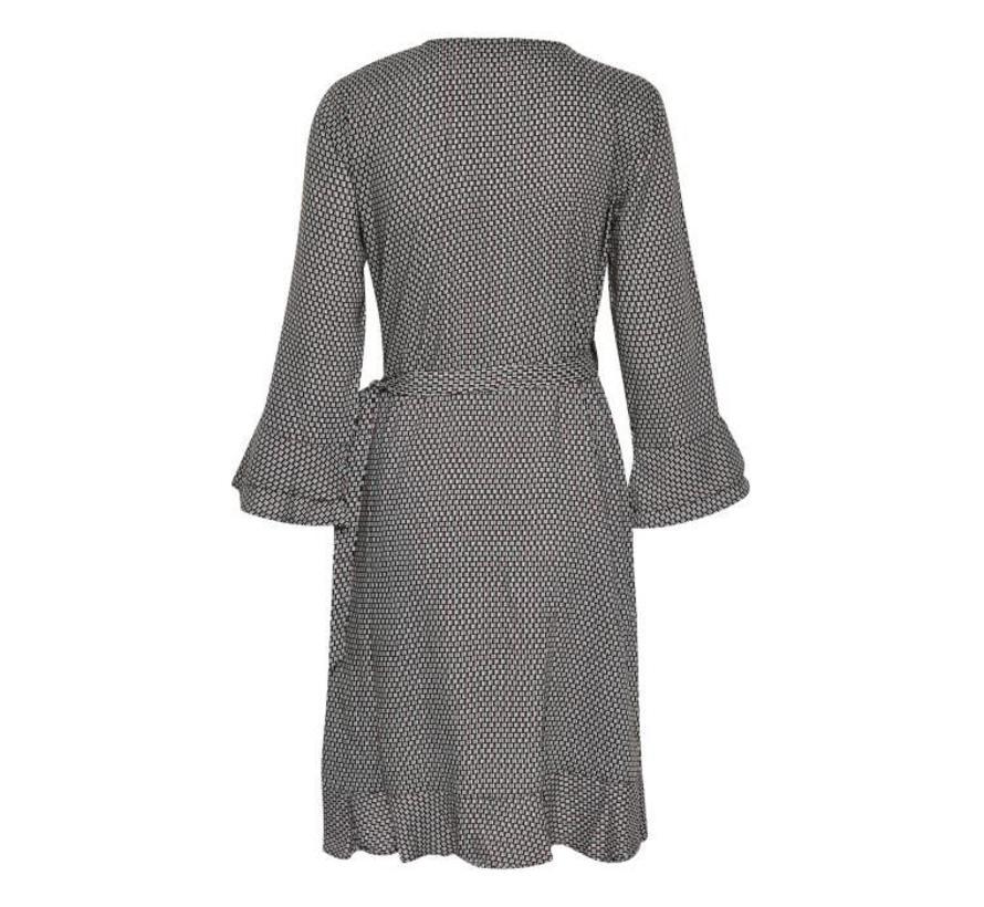 Kleid | Dakota Wrap dress | Hot Java