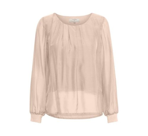 Cream Clothing Bluse | Jallaish blouse | Rose Dust