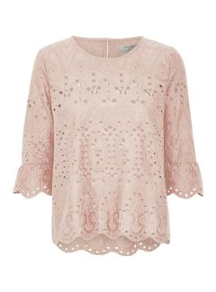 Cream Clothing Bluse | Fleur Blouse | Rose Smoke