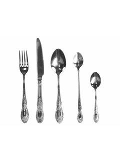 Chic Antique Besteckset 5-teilig | Silberfarben