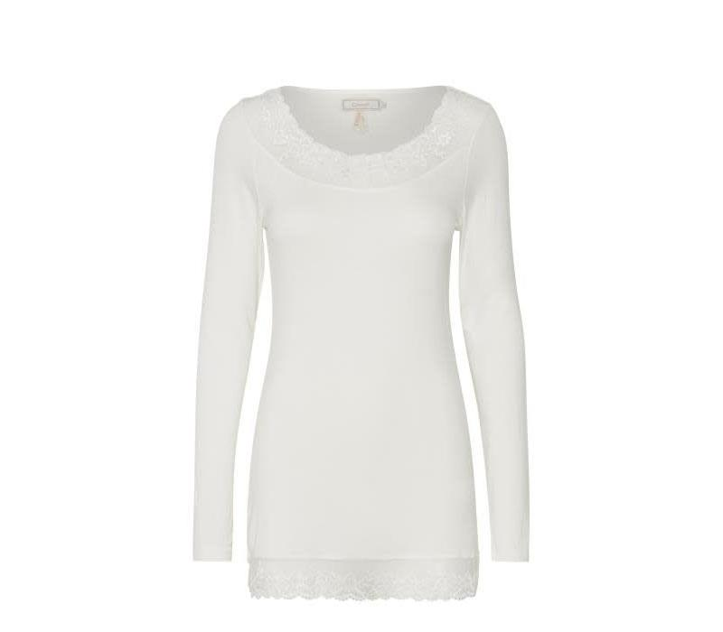 Top | Florence LS Top | Chalk