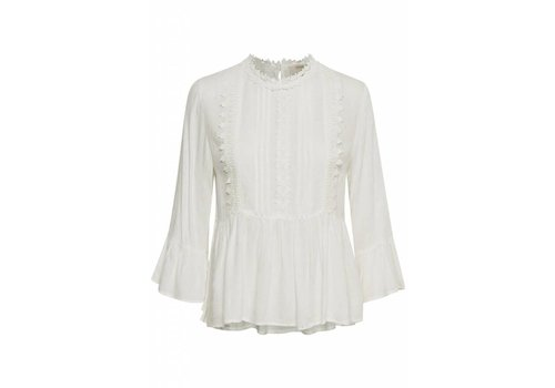 Cream Clothing Bluse | Candie Blouse | Chalk