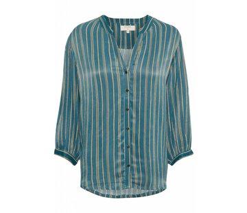 Cream Clothing Bluse | Tilde Blouse | Crocodile Green