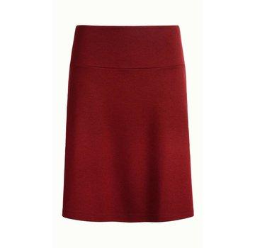 King Louie Rock   Border Skirt Milano Uni   Ribbon Red