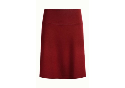 King Louie Rock | Border Skirt Milano Uni | Ribbon Red