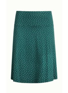 King Louie Rock | Border Skirt Little Dots | Dragonfly Green
