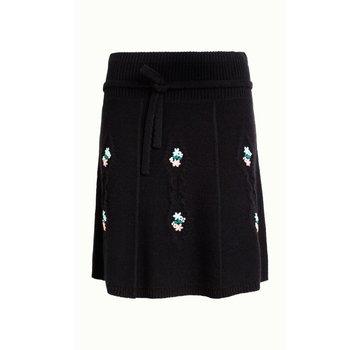 King Louie Rock   Skirt Edelweiss   Black