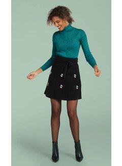 King Louie Rock | Skirt Edelweiss | Black