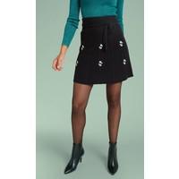 Rock | Skirt Edelweiss | Black