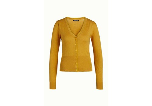 King Louie Cardigan | Cardi V Cocoon | Honey Yellow