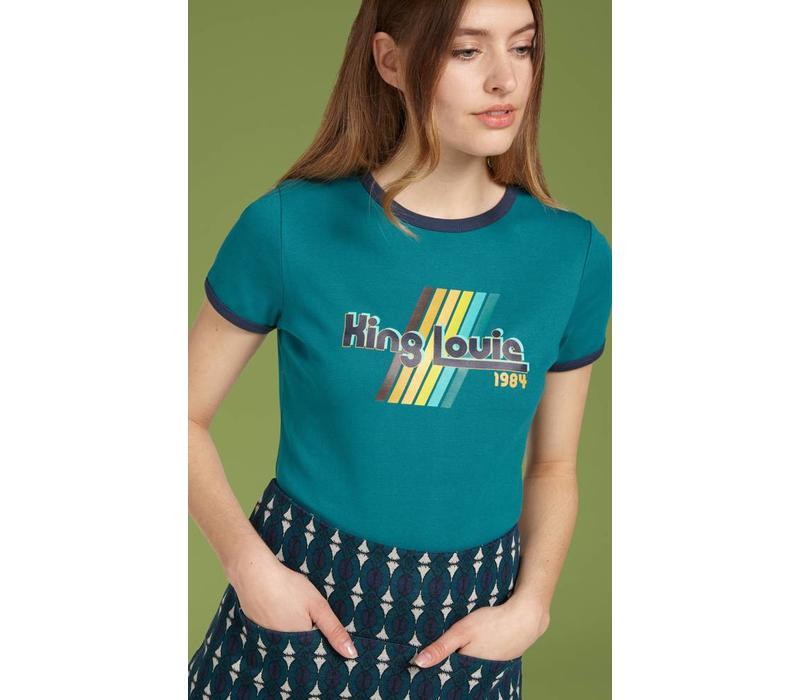 T-Shirt | King Louie Tee | Lapis Blue