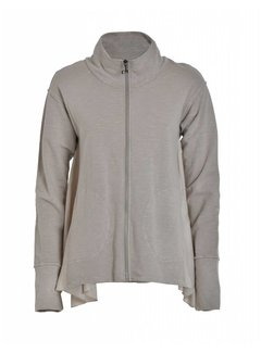 DEHA Sweatshirt mit Reissverschluss | Ash Grey