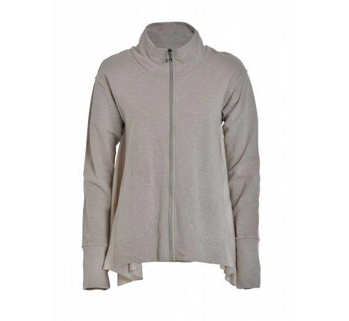DEHA Sweatshirt mit Reissverschluss   Ash Grey
