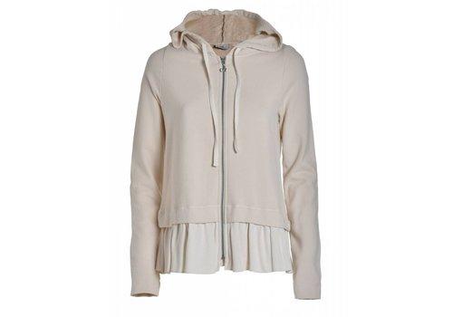 DEHA Sweatshirt mit Kaputze | Creme