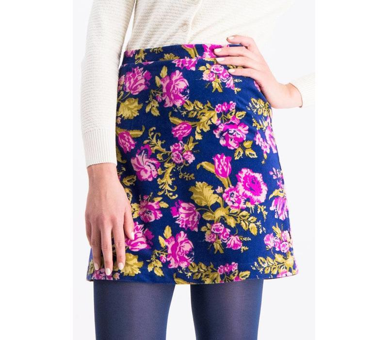 Taillenrock | velvet eyes jupe | persian poppy