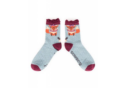 Damensocken Nerd Fox | superweiche Bambusfasern
