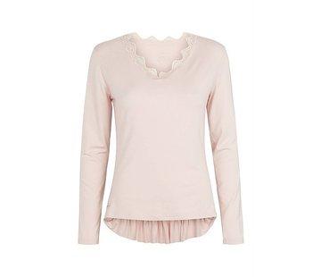 Langarmshirt   V blouse   Mauve