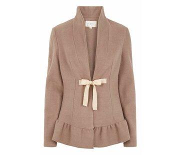 Tina Wodstrup Wollmantel | Wool jacket | Taupe