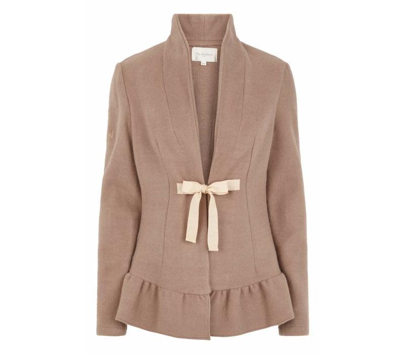 Wollmantel | Wool jacket | Taupe