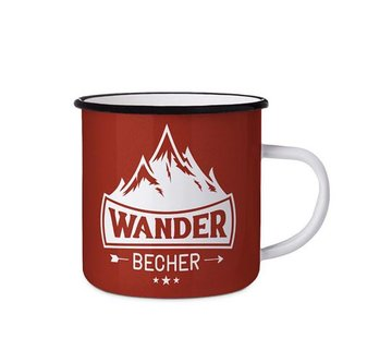 Emaillebecher | Wander Becher | Geschenkidee