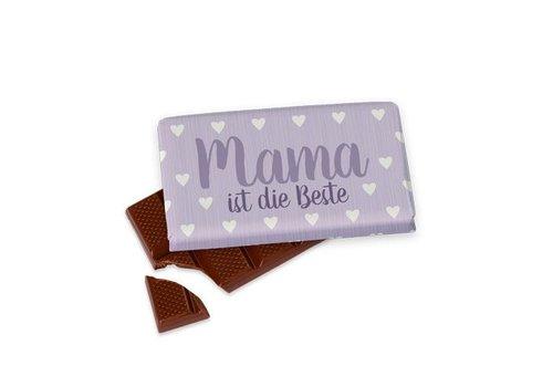 Tafelschokolade | Mama ist die Beste | Geschenkidee