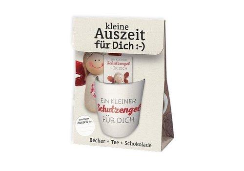 Becher + Tee + Schokolade | Ein kleiner Schutzengel | Geschenkidee
