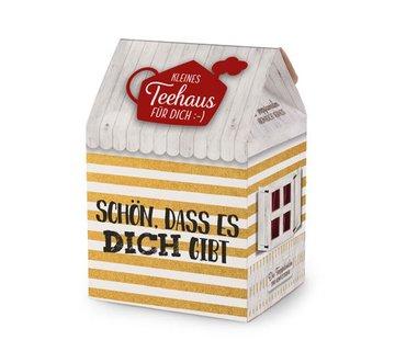 Teehaus (8P) | Schön, dass es Dich gibt | Geschenkidee