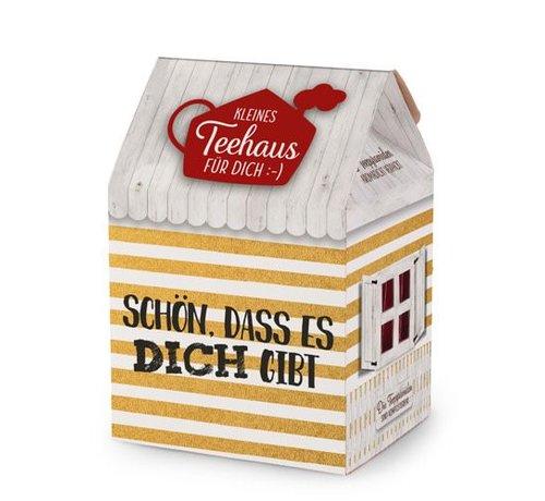 Teehaus (8P)   Schön, dass es Dich gibt   Geschenkidee