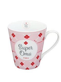 Krasilnikoff Tasse | Happy Mug | Super Oma