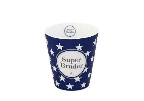 Krasilnikoff Tasse | Happy Mug | Super Bruder