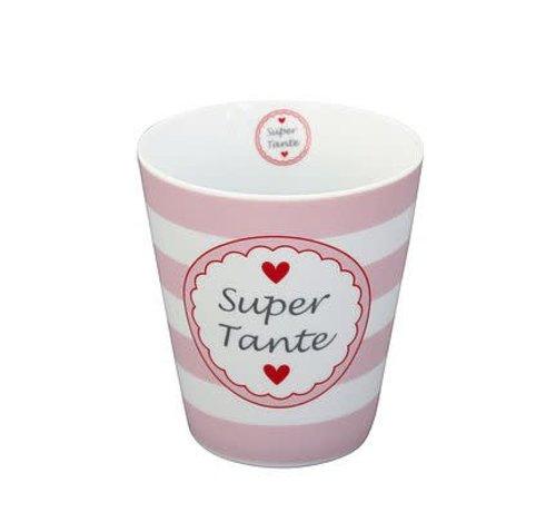 Krasilnikoff Tasse | Happy Mug | Super Tante