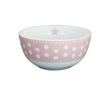 Krasilnikoff Schale | Happy Bowl | Dot Pink