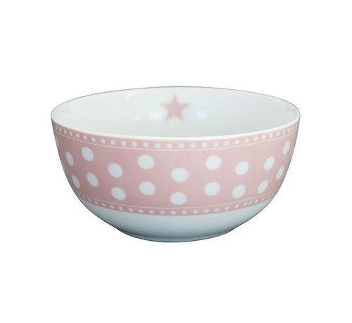 Krasilnikoff Schale | Happy Bowl | Dot Pink