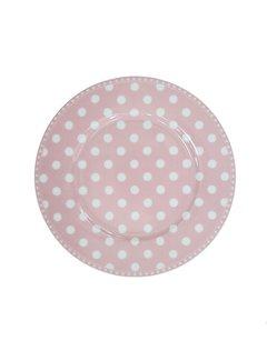 Krasilnikoff Dessertteller | Dessert Plate | Dot Pink