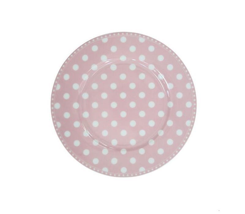 Dessertteller | Dessert Plate | Dot Pink
