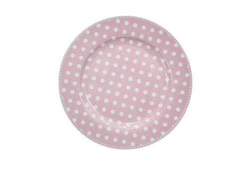 Krasilnikoff Speisetteller | Dinner Plate | Dot Pink