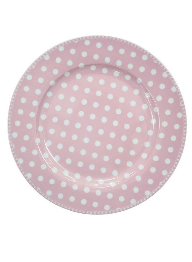 Speisetteller | Dinner Plate - Dot Pink