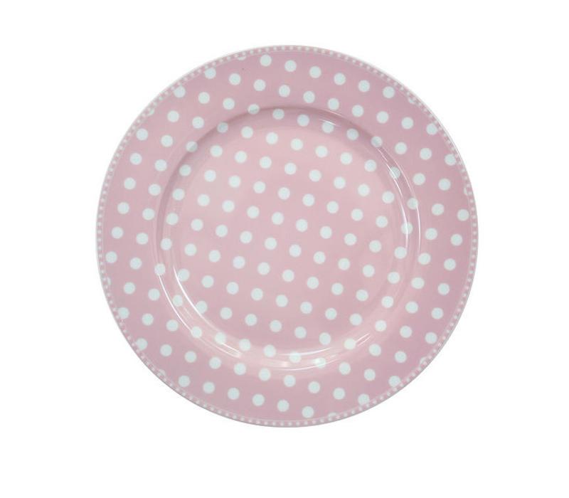Speisetteller   Dinner Plate   Dot Pink