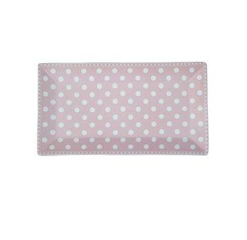 Krasilnikoff Platte   Tray   Dot Pink