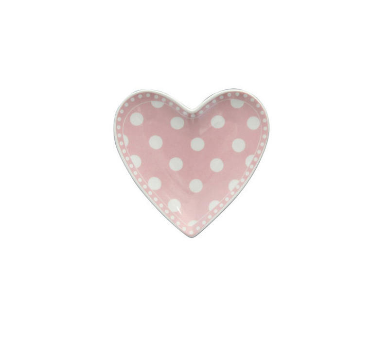 Teebeutel Teller | Heart Tray | Dot Pink