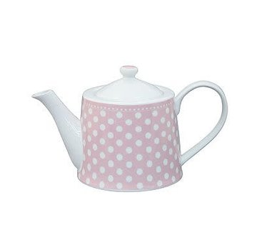 Krasilnikoff Teekrug mit Deckel | Teapot | Dot Pink