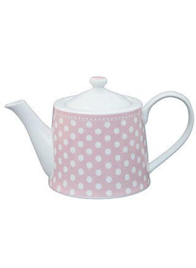 Teekrug mit Deckel | Teapot | Dot Pink