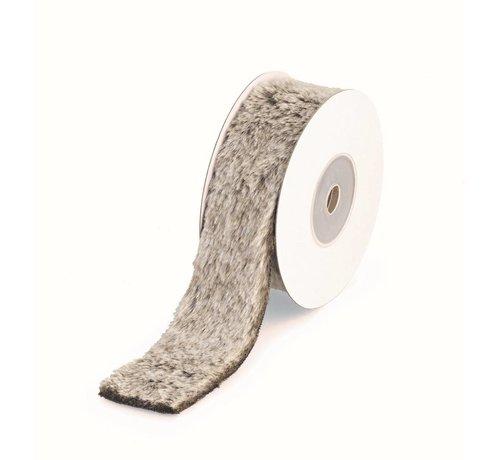 Kunst-Fellband | Grau