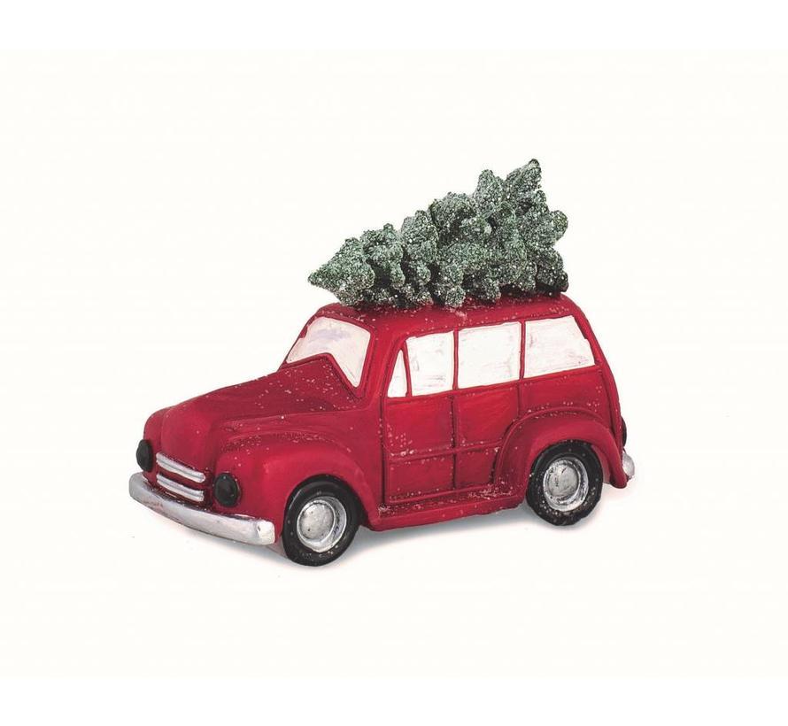 Auto Weihnachtsbaum.Kerze Auto Mit Weihnachtsbaum 14 Cm