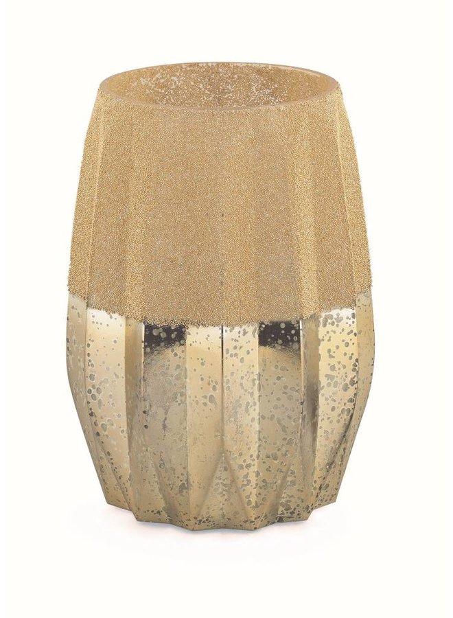 Teelichthalter Vintage Gold | Gross