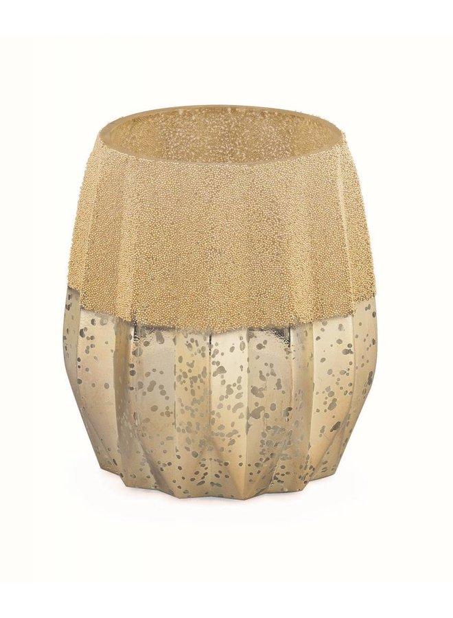Teelichthalter Vintage Gold | MIttel