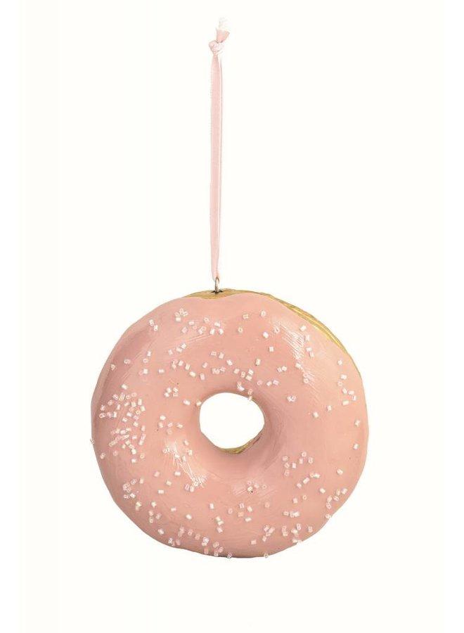 Dekoanhänger Rosa-Gold Donut