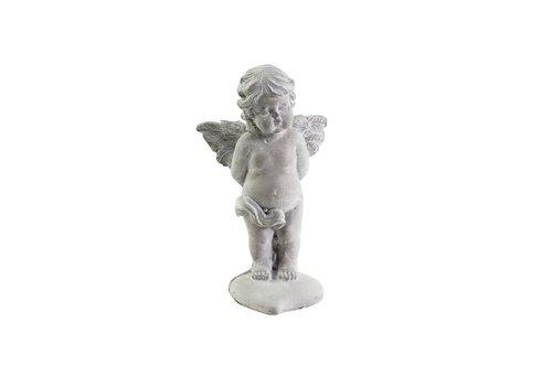 Chic Antique Dekofigur Engel auf Herz | Shabby Chic Weihnachten