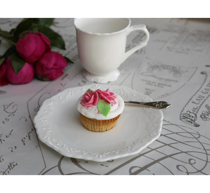 Dessertteller | Provence | Porzellan weiss
